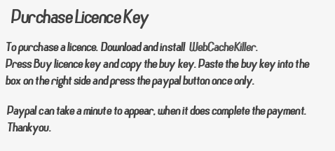 Purchase Licence Key